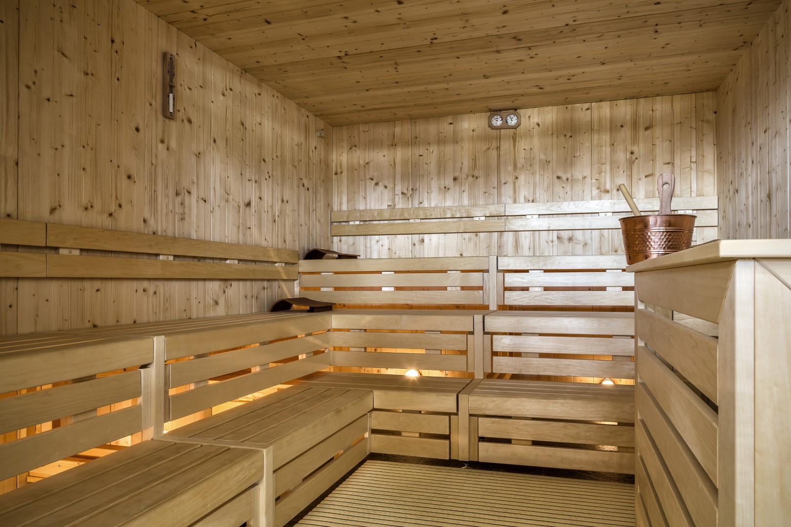 Finnischer Sauna in Südtirol