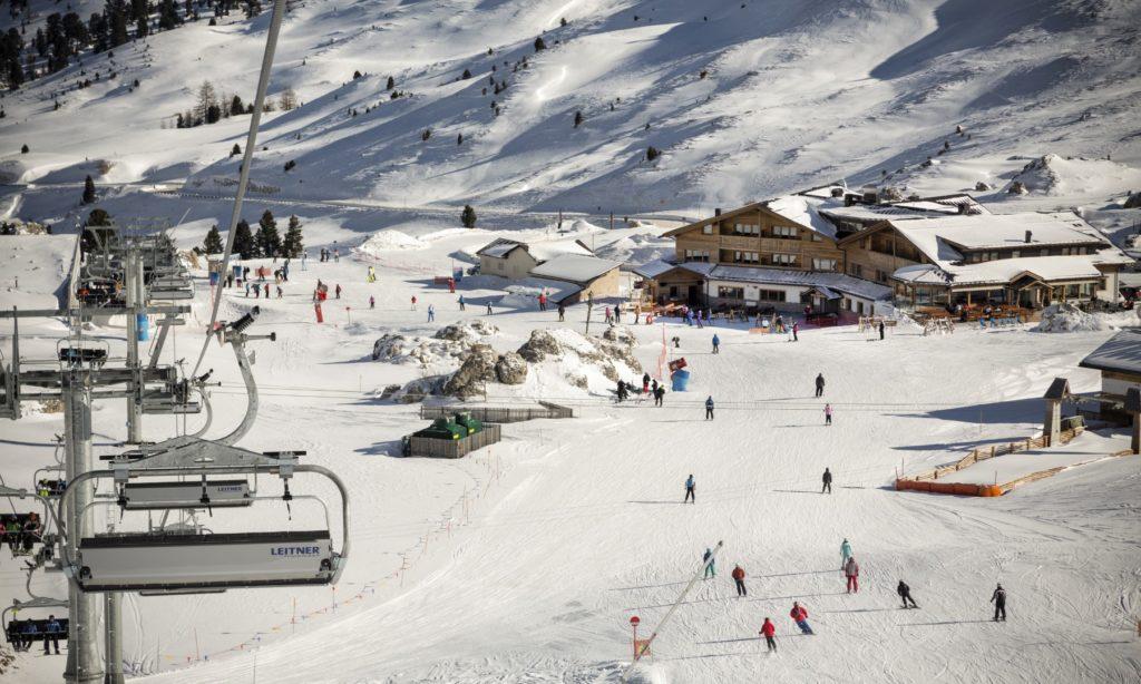 passo sella resort 1024x614 - Skiing at Sella Ronda