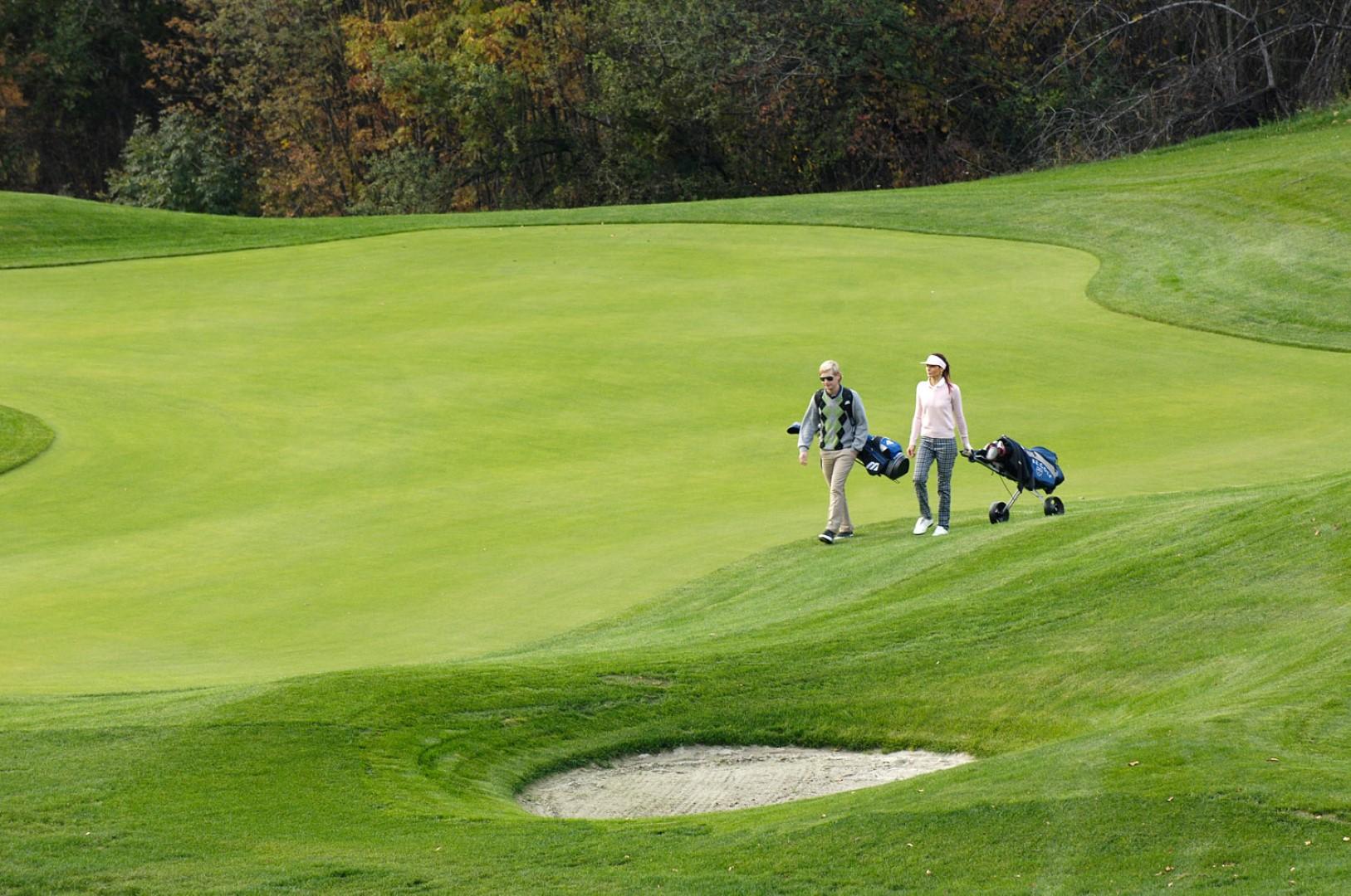 Golfing in Gherdëina